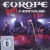 EUROPE - Live At Shepherd's Bush London (2011) (CD+DVD)