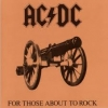 AC/DC - For Those About To Rock (We Salute You) (Ltd edition LP