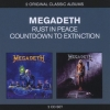 MEGADETH - Rust In Peace / Countdown To Extinction (2012) (2CD)