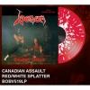 VENOM - Canadian Assault (1985) (Limited edition RED/WHITE SPLATTER LP